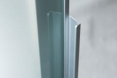 Tirador Puerta Vitrina Marco Aluminio