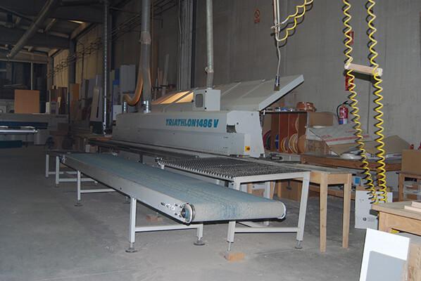 Máquina de Canteado